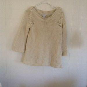 Soft Surroundings large cable knit sweater sz.PM